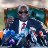 Zimbabwes tidligere præsident Robert Mugabe.