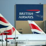 British Airways kan komme til at blive påvirket af en pilotstrejke i næste uge. (Arkivfoto) Hannah Mckay/Ritzau Scanpix