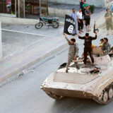 Arkivfoto. Islamisk stat i Syrien.