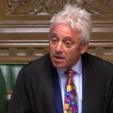 Formanden for det britiske parlaments Underhus, John Bercow, har mandag meddelt, at han agter at træde tilbage inden for nogle uger. Bercow har haft en central rolle i brexitprocessen. Han har blandt andet besluttet, hvilke ændringsforslag som skulle til afstemning under tidligere maratonsamlinger om brexit i parlamentet. -/Ritzau Scanpix