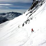 Randonnee giver dig mulighed for – for en kort stund – at føle dig som en vaskeægte eventyrer på vej mod bjergets top, når du med syntetisk klatreskind under skiene og lavineudstyr går hele vejen op.