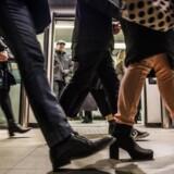ARKIVFOTO: Det bliver hurtigere at tage hele turen rundt i Cityringen, end det er at tage toget fra Københavns Hovedbanegård til Lyngby Station.