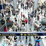Travlheden i Københavns Lufthavn kan pludselig ændre sig helt, hvis en faglig konflikt udarter sig og lammer hele trafikken.