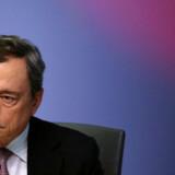 Chefen for Den Europæiske Centralbank, italienske Mario Draghi.