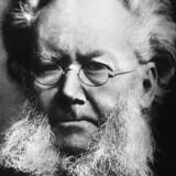 Henrik Ibsen levede fra 1828 til 1906 og skrev om noget af tidens mest debatterede emner - fra borgerlighe til kvindefrigørelse. Foto: AFP