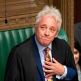Parlamentets afgående formand, John Bercow, forsikrer, at han vil sørge for, at premierminister Boris Johnson følger den nyligt vedtagne lov om, at Storbritannien ikke må forlade EU uden en aftale.