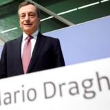 Ugens mand i skysovs, ECB-chefen Mario Draghi. Han fik trumfet et nyt opkøbsprogram igennem uden slutdato, hvilket er godt nyt for aktiemarkedet.