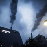 Avedøreværket uden for København: Her ryger CO2 op i atmosfæren, men det tæller ikke med i Danmarks klimaregnskab.