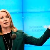 Centerpartiets leder, Annie Lööf, var drivkraften bag den kontroversielle støtte til en rød-grøn regering, som slog Sveriges blå blok i stykker. Nu er det vigtigt for hende at få den rigtige politiske betaling.