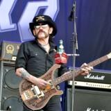 Selve personificeringen af rock n' roll. Legendariske Ian »Lemmy« Kilmister i front for tordnende Motörhead (AFP PHOTO)