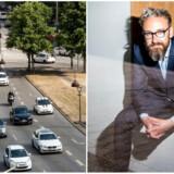 Transportminister Ole Birk Olesen (LA) ser gerne, at afgifter flyttes fra køb og ejerskab af biler og over på selve kørslen.