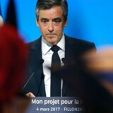 Den skandaleramte François Fillon.