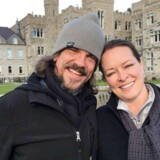 Kurt Cochran og hans kone, Melissa, var i London for at fejre deres sølvbryllup.