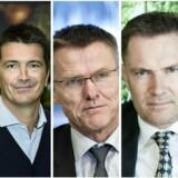 Fra venstre: Camilla Sylvest, Ole Robert Reitan, Lasse Nyby, Niels thorsborg og Peter Sonne. Fotorgrafer, fra venstre: Thomas Lekfeldt, Niels Ahlmann Olesen, Henning Bagger, Mads Nissen og PR