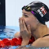 Pernille Blume stod for et af højdepunkterne i 2016 med OL-guld i 50 meter fri ved legene i Rio. Det blev til 15 danske medaljer i et historisk godt dansk OL (arkivfoto). Reuters/Marcos Brindicci
