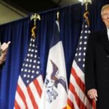 Sarah Palin støtter Donald Trump.
