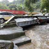 Her er det Costa Rica, der er blevet ramt af den tropiske storm Nate.