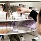 Arkivfoto. Rundspørge viser, at det kan være svært for økonomisk dårligt stillede at have penge nok til deres receptpligtige medicin.