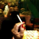 »Rygning er djævelskab, men jeg er jo aldrig påtvunget som individ at gå ind på en »ryger-bodega«, hvis jeg ikke ønsker at blive udsat for passiv rygning.« Arkivfoto