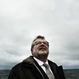 Boligspekulant Ole Vagner har mistet mange millioner gennem finanskrisen. Her fotograferet ved sin private strand på ved Vedbæk.