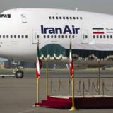Irans præsident Hassan Rouhani drager i næste uge til Paris formentlig for at underskrive en kontrakt på købet af 114 Airbus-fly.Foto: Morteza Nikoubazl