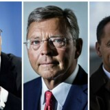 Ole Andersen, Christian Clausen & Jim Hagemann Snabe
