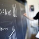 Ny analyse fra Dansk Erhverv viser, hvor meget gymnasierne hæver elevernes faglige niveau. (Foto: Jens Nørgaard Larsen/Scanpix 2015)