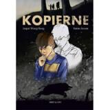 »Kopierne« skrevet af Jesper Wung-Sung og illustreret af Søren Jessen.