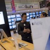 Apple havde selv regnet med et iPhone-salg på 75 millioner telefoner, og den forventning nåede selskabet lige akkurat ikke.
