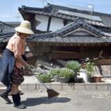Et kraftigt jordskælv har ramt Japan.