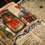 Dokumentationen for århundreders gode historier ligger nu til skue i Rom.