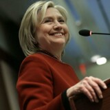 Arkivfoto af Hillary Clinton i Washington DC 23. marts.