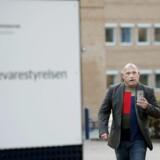ARKIVFOTO tidligere Se og Hør journalist og tiltalte i Se og Hør-sagen, Kasper Kopping, ankommer til Retten i Glostrup på sagens første retsdag.