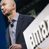 Jeff Bezos' Amazon-imperium breder sig konstant over nettet, og især Amazon Web Services, som sælger computerkraft og lagerplads, er i stor fremgang og overhaler i år grundforretningen, den navnkundige internetboghandel, som også har udviklet sig til et digitalt supermarked. Arkivfoto: David Ryder, Getty Images/AFP/Scanpix