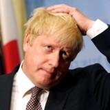 Udenrigsminister Boris Johnson er fungerende premierminister mens Theresa May er bortrejst på ferie.