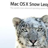 Den amerikanske computerproducent Apple rykker ud med nyeste udgave af sit styresystem, med kælenavnet Sneleoparden, 28. august, lidt før tid. Foto: Apple