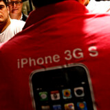 Der var begrænset tumult, da Apple lancerede den nye iPhone 3GS