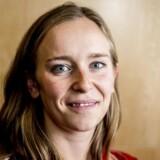Speedskater Elena Rigas, Danmarks fanebærer til vinter OL 2018, glæder sig over nye muligheder, efter at Team Danmark vil støtte hendes sport. (Foto: Mads Claus Rasmussen/Scanpix 2018)