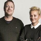 Podcast-gæst Peter Bækbo Ahn, som stiftede Halifax med studiekammeraten Ulrich Dehler, sammen med Ane Cortzen, vært i »Succes Kriteriet«.