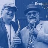 Danske Benjamin Koppel og amerikanske Joe Lovano.