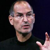 »Bemærkelsesværdigt,« kalder Apple-stifter og -topchef Steve Jobs de seneste tre måneders indsats. Foto: Justin Sullivan, AFP/Scanpix