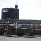 Ubåden Nautilus ligger på Nordsøvej i Nordhavn.