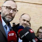 Tidligere Chefredaktør på Se og Hør, Henrik Qvortrup efter dommen i Retten i Glostrup 24. november 2016. Henrik Qvortrup fik et år og tre måneders fængsel, hvoraf de 12 måneder blev gjort betinget under forudsætning af, at Qvortrup udfører 200 timers samfundstjeneste.