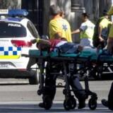 Varevogn påkørte og dræbte flere personer i Barcelona torsdag aften. Klik videre og se flere billeder fra Barcelona.