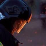 Det var torsdag eftermiddag i sidste uge, at der opstod brand i et flygtningecenter. Free/Colourbox