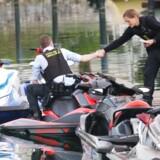 Politiaktion ved Brøndby Havn, lørdag den 6. maj 2017.