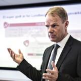 Lundbeck-topchef Kåre Schultz havde selvtilliden i orden, da han onsdag morgen fremlagde medicinalselskabets årsregnsskab.