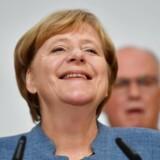 Angela Merkel (CDU) ser ud til at have »vundet« det tyske valg. Det kan komme til at presse danske interesser.