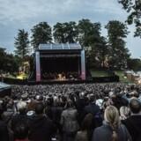 Heartland Festival var pakket under Eddie Vedders koncert lørdag aften på Lowland Stage.