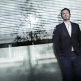 Michael Thouber fotograferet i sin egenskab af chef for DR2, som han nu forlader. Foto: Thomas Lekfeldt